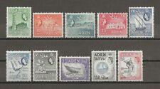 ADEN 1964-5 SG 77/86 MNH Cat £55