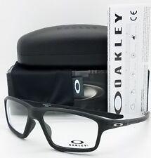 Novos Óculos de Sol Oakley Crosslink Zero Rx Receita Armação Preta OX8076-0756 link 8076 56mm
