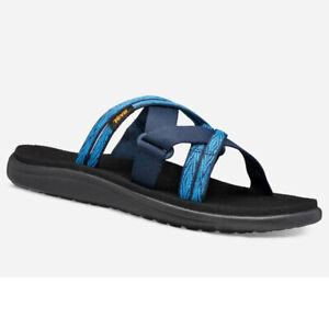 Teva 1099269 - Women's Voya Slide - Quita Black Iris