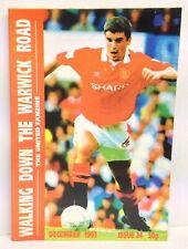 Walking Down The Warwick Road Issue 24 Manchester United Fanzine 1993 WDWR