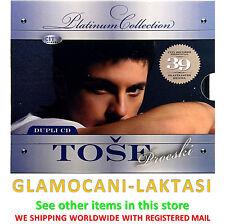 2CD TOSE PROESKI THE PLATINUM COLLECTION srpska bosanska hrvatska muzika pop