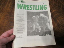 NWA WEST PALM BEACH Wrestling Program NICE SHAPE VINTAGE