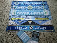 lotto 8 sciarpe LAZIO FC club football calcio scarf bufanda echarpe schal lot a
