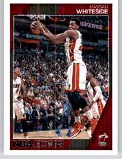 2016-17 NBA Hoops Hassan Whiteside NBA PWE Base Card Heat #49