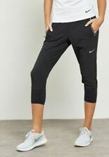 NIKE FLEX SWIFT Womens Jogging Bottoms Capris Pants - Running Trousers Fitness M