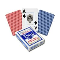 BEE Casino Spielkarten Poker Club special 52 Blatt 2 Jumbo Index Bee 77R