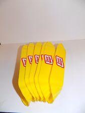 Oscar Mayer Yellow Plastic Hot Dog Holders - Set of 6