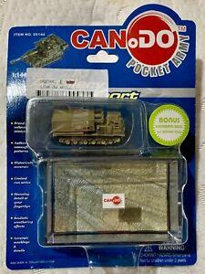 CanDo (Dragon) - M270MLRS - Iraq -2003 - 1:144 - Inc Diorama Base & Display Case