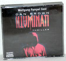 Wolfgang Pampel liest Dan Brown ILLUMINATI - Thriller