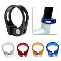 Aluminium Alloy Quick Release Seat Post Clamp Bike Cycling Bicycle 31.8/34.9mm
