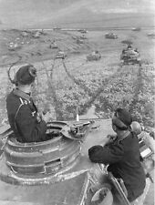 WWII B&W Photo German Panzer IV Turret View  World War Two Germany WW2 / 4012