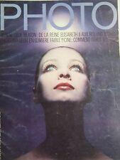 PHOTO MAGAZINE 1970 No 30  BEATON PETE TURNER MARIE DUBOIS CLEMMER PACO RABANNE
