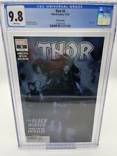 THOR #5 THIRD 3RD PRINT Variant CGC 9.8 1ST APPEARANCE OF THE BLACK WINTER