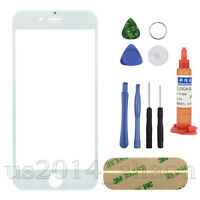 for iPhone 6 4.7inch Front Screen Glass Lens Replacement REPAIR KIT White