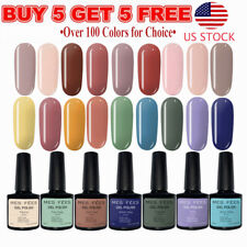 Gel Nail Polish Shiny Top Base Coat UV LED Lamp Soak Off 7ml Buy 5 Get 5 Free