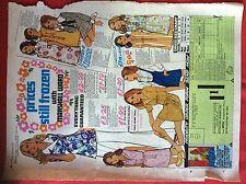 m2b ephemera 1973 advert folded marshall ward fashions women