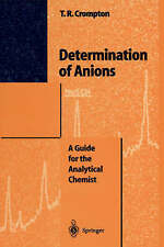 NEW Determination of Anions: A Guide for the Analytical Chemist