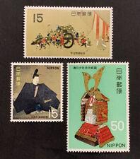 Travelstamps: 1968 JAPAN STAMPS SCOTT #965-967 MNH OG National Treasures