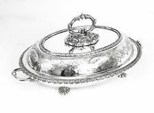 Antique Victorian Silver Plated Entree Dish Mappin c.1850