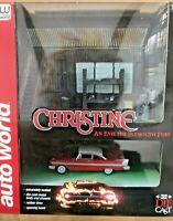 AutoWorld 'Christine' Plymouth Fury Garage Diorama