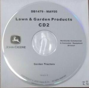 JOHN DEERE X465 X475 X485 X575 X585 TRACTOR TECHNICAL REPAIR MANUAL CD TM2023