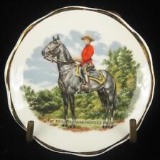 Royal Canadian Mounted Police (Mounties) Mary Jane Fine Bone China Pin Dish