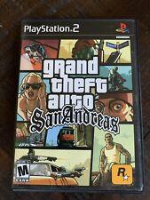 Grand Theft Auto GTA: San Andreas (Sony PlayStation 2, PS2, 2004) No Map