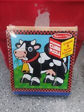 Melissa & Doug® Farm Cube Puzzle Six Puzzles in One Ages 3 and Up
