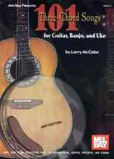 """101 THREE-CHORD SONGS"" FOR GUITAR/BANJO/UKULELE MUSIC BOOK BRAND NEW ON SALE!!"