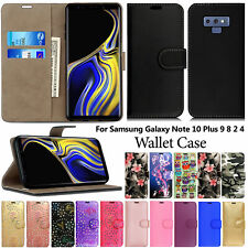 Case For Samsung Galaxy Note 10 Lite 9 8 7 5 4 3 2 Flip Wallet Leather Cover