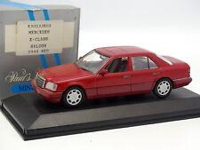 Minichamps 1/43 - Mercedes Classe E W124 Rouge