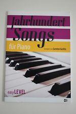 Abverkauf Noten: Jahrhundertsongs für Piano; Klavier