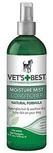 Vet's Best Moisture Mist Conditioner for dogs 470ml (16floz)