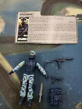 GI Joe 1988 Shockwave SWAT Specialist Figure 100% Complete Hasbro