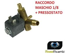ELETTROVALVOLA CEME FERRO DA STIRO MASCHIO 1/8- 4 W- portagomma 90°+ PRESSOSTATO