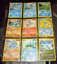 Pokemon Card/Tarjeta 6 Horsea, 2 Seadra, 1 Kingdra Cards (FREE S/H in USA)