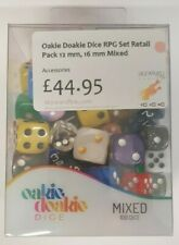 More details for oakie doakie dice - various sizes & designs mixed selections - 100 dice