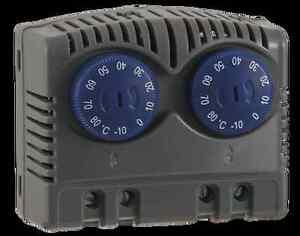 Seifert Variable twin thermostat NONO -10°C - +80°C