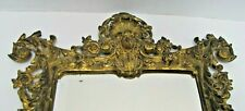 B&H Bradley & Hubbard Antique Beautiful Maiden Decorative Arts Bevel Mirror
