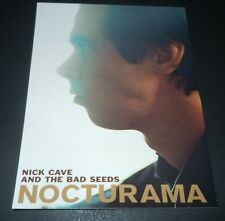 NICK CAVE AND THE BAD SEEDS~Nocturama~Original Promo Post Card~4x5.5~Anti~2003