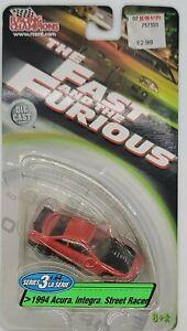 "Racing Champions Series 3 ""Fast & Furious"" 1994 Acura Integra Street Racer"