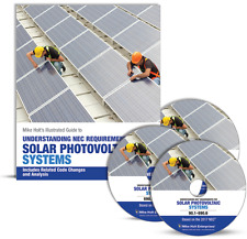 Mike Holt's NEC Requirements for Solar Photovoltaic Systems Textbook & DVDs 2017