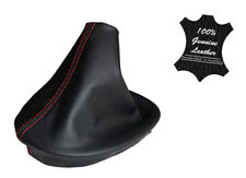 HOLDEN VT VX LEATHER MANUAL GEAR BOOT ONLY SS S COMMODORE - RED STITCH
