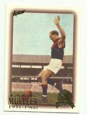 1996 SELECT HALL OF FAME MELBOURNE JACK MUELLER #52 CARD AFL