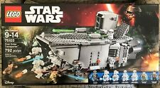 LEGO Star Wars 75103 First Order Transporter New Sealed Retired 7 Minifigures
