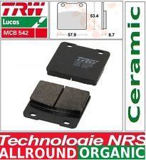 2 Plaquettes frein Avant Organic TRW MCB542  Suzuki GSXR 750 (GR75A) 85-87