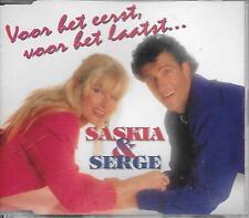 SASKIA & SERGE - Voor het eerst, voor het laatst CDM 2TR Holland 1994 RARE!!