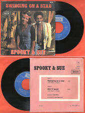 "French 7"" SPOOKY & SUE Swinging on a star DECCA 86.026"