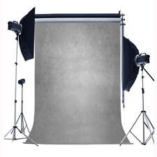 5x7ft Gray Gradient Photography Backgrounds Vinyl Solid Portrait Photo Backdrops