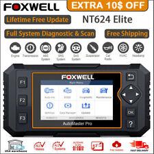 Foxwell NT624Elite OBD2 Scanner Full System EPB Oil Reset Code Reader Diagnostic